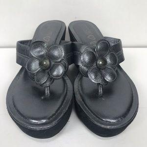 Coach Platform Sandals EUC Size 61/2